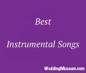 Instrumental Songs For Weddings