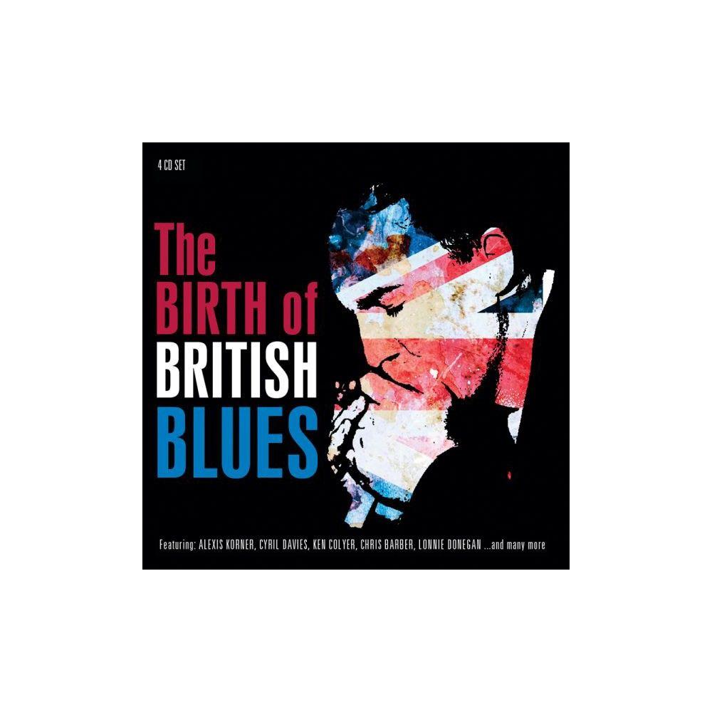 Various Artists - The Birth of British Blues (Proper Box) (CD)