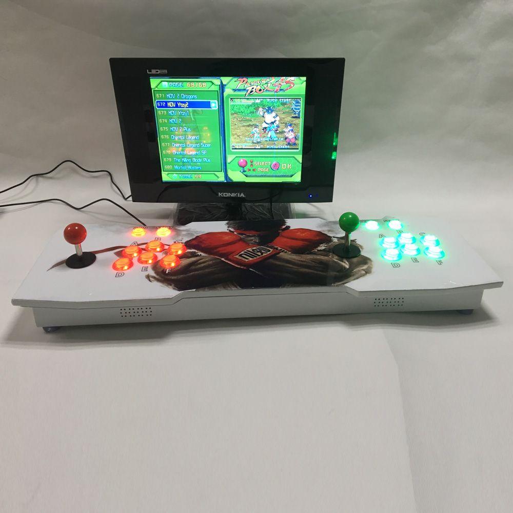 Pandora box 4S Arcade Rocker console With Double arcade