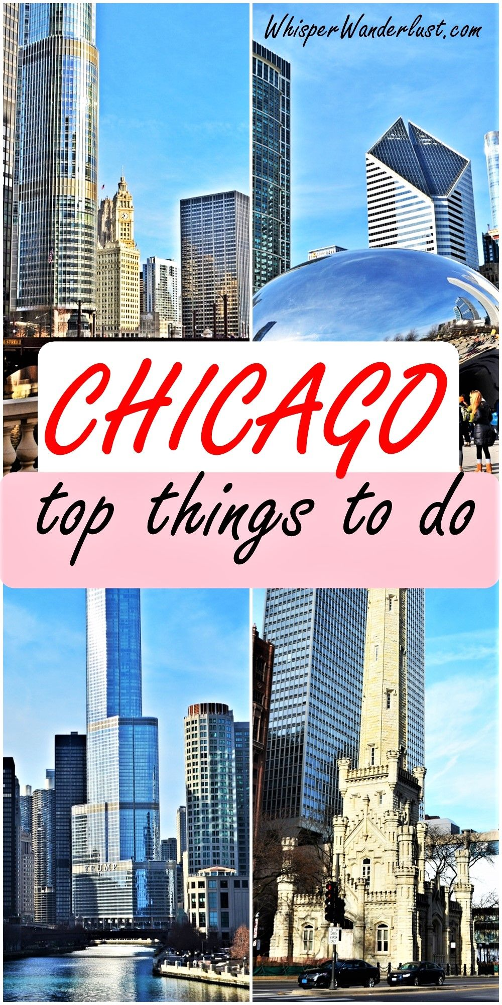Exploring Chicago was a lot of fun! I loved the architecture of the buildings, the clean streets, the beautifully designed parks, but I guess my favorite was the Riverwalk. #chicago #chicagousa #travelchicago #chicagoskyline | best things to do in chicago | usa | chicago aesthetic | chicago itinerary | chicago travel guide | chicago photography
