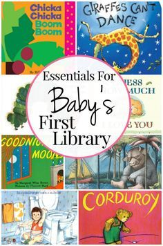 31 Must-Have Books For Baby's First Library | New baby ...