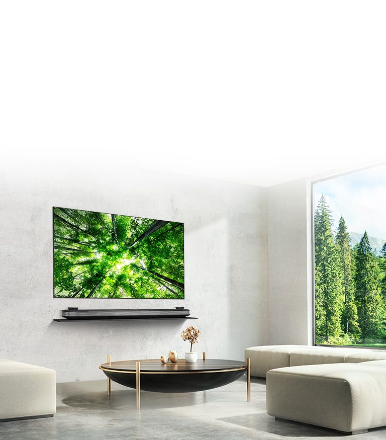Lg Signature Oled Tv W8 4k Hdr Smart Tv W Ai Thinq 77