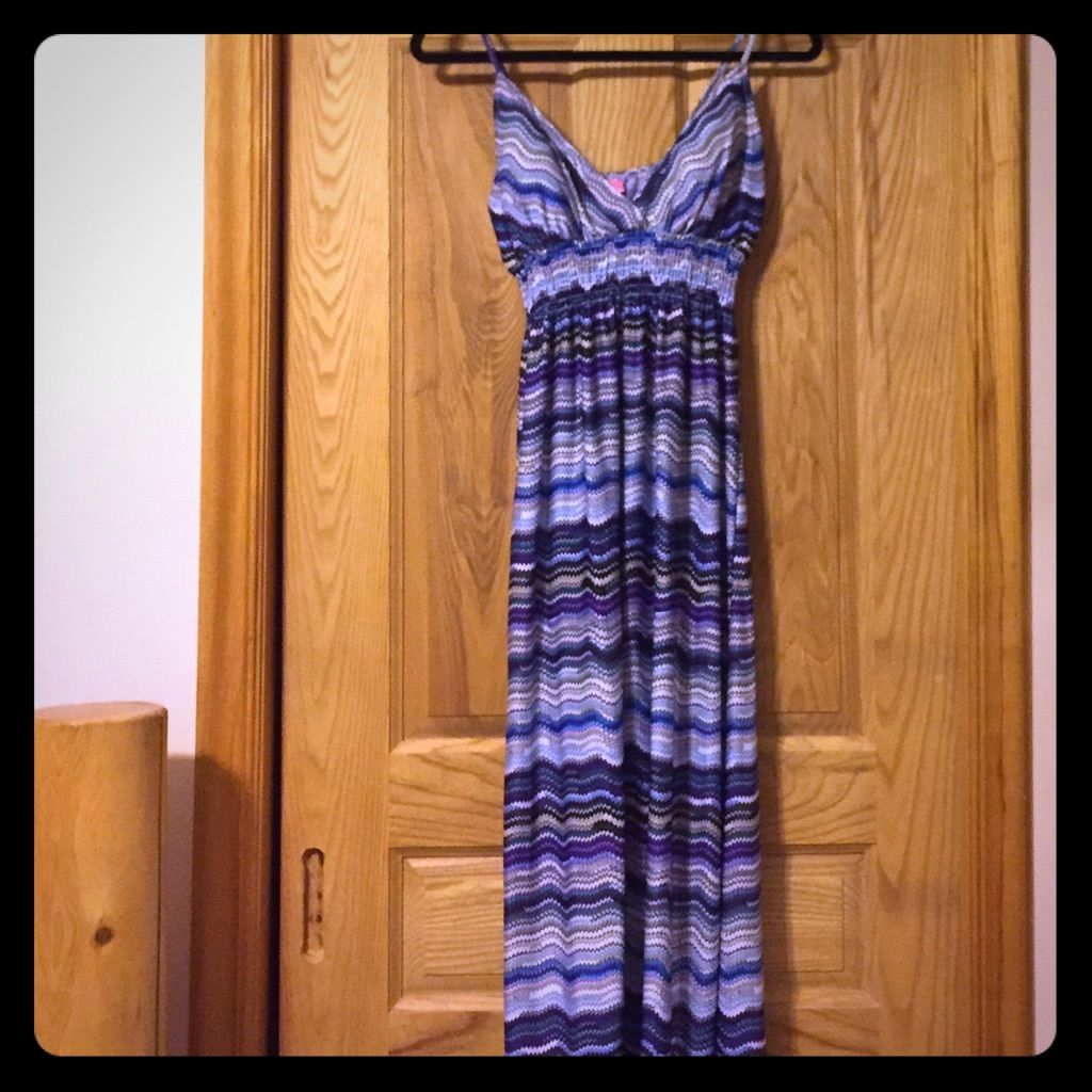 Gently Used Maxi, Spaghetti Strap In Great Colors