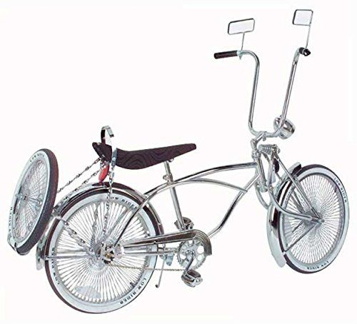 20″ Lowrider Bike Gold-Chrome 527-3 Lowrider bicycle Original ...