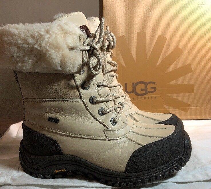 fd009920dac UGG Adirondack II 1909 Sand Waterproof Leather Snow Boots Women's ...