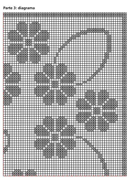 Criação e execução: Coats Corrente Material: - Linha Esterlina 8 (nov. de 350m), 9 nov. na cor BC (branco) - Ag. niquelada para crochê Corrente Milward de 1,75mm      Abreviaturas e pontos empregados: - p. -ponto; corr. - correntinha; p.a. - p. alto; nov. -