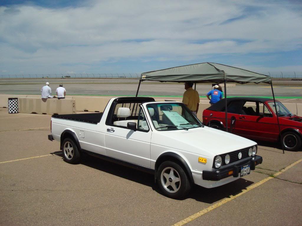 caddy pickup vw mk1 targa top