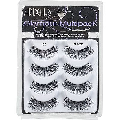 7fa1a2cc304 Ardell Glamour Black Multipack 105- or any false eyelashes really, for  competition and recital :)