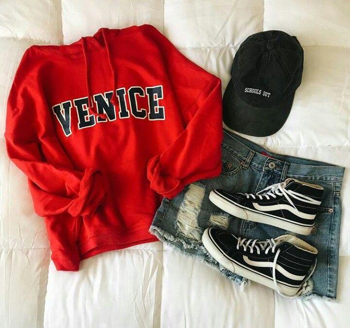 Venice Jersey + short negro + vans + gorra negra  9e43512da6b