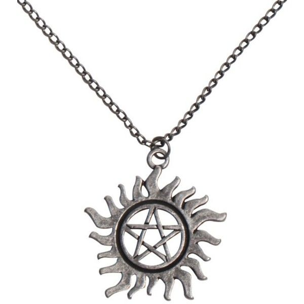Supernatural Anti Possession Symbol Necklace Hot Topic Liked On