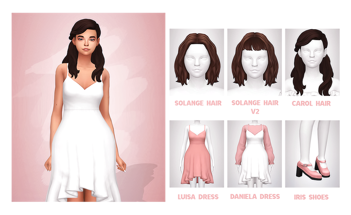 CHICLETE Pack | Sims | Sims 4, Sims, Sims 4 cas