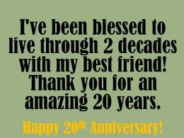 20th Anniversary Wishes Quotes And Messages To Write In A Card Anniversary Wishes Quotes 20th Anniversary Quote Anniversary Message