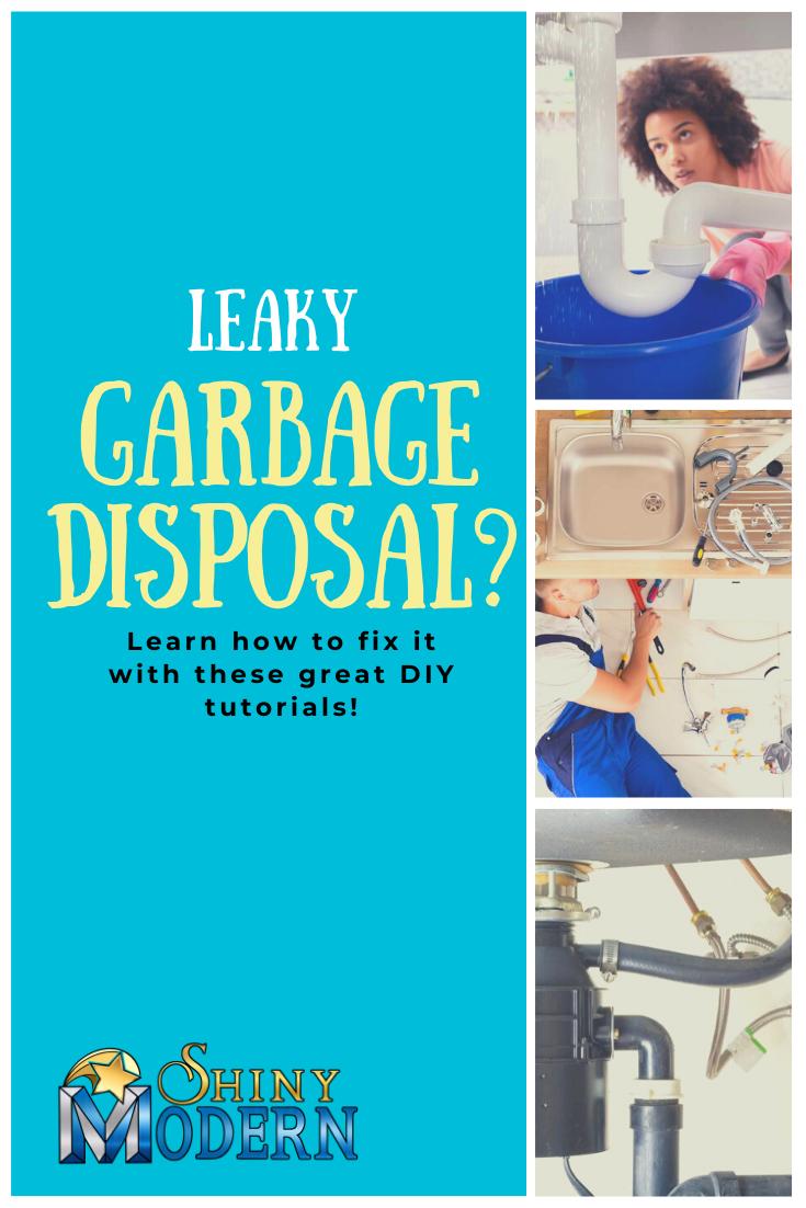 Can A Garbage Disposal Leak Garbage Disposal Garbage Diy Repair