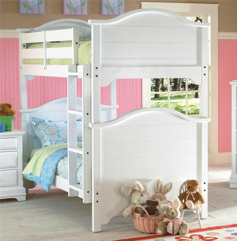 Bayfront Twin Panel Bunk Bed by New Classic Bed, Girls