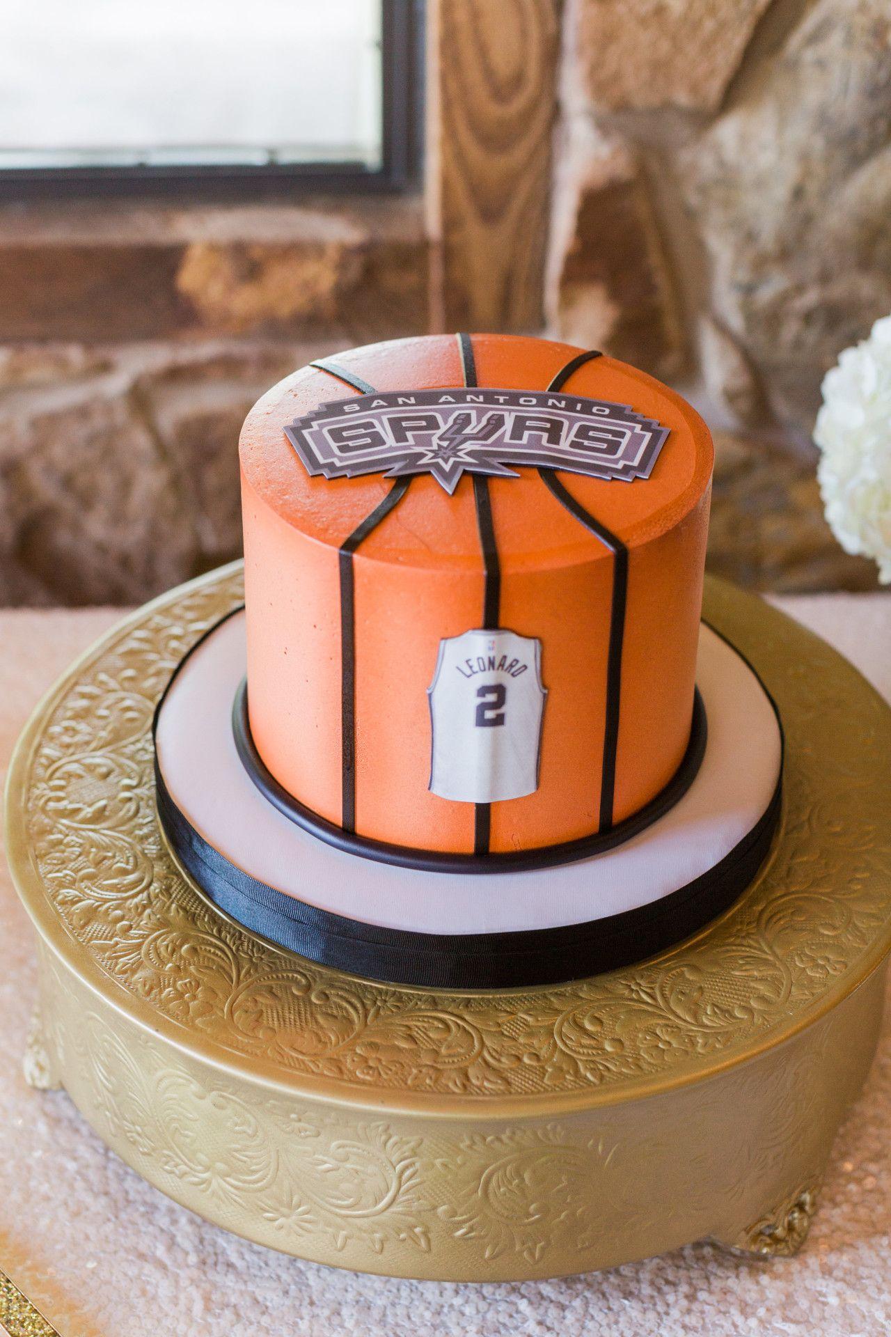 San Antonio Spurs Groom S Cake Basketball Groom S Cake