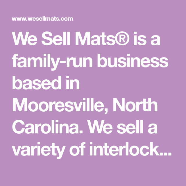 We Sell Mats Is A Family Run Business Based In Mooresville North Carolina We Sell A Variety Of Interlo Foam Mat Flooring Gymnastics Tumbling Mat Mooresville