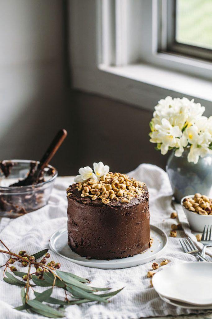 Vegan Nutella Cake