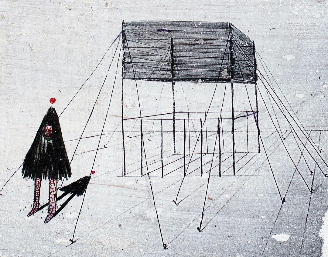 Konstruktion #mixedmedia#construction#art#artwork   Construction ...
