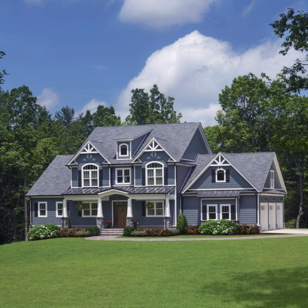 The Blarney House Plan 1424 #modernfarmhouseexterior