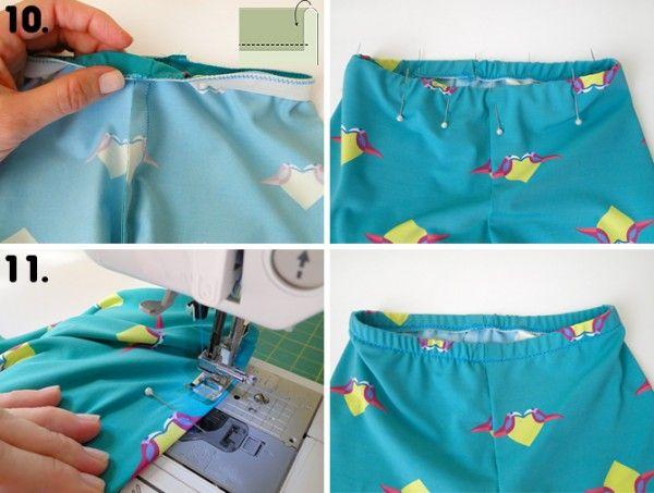 f87531e02 Tutorial e molde grátis calça legging infantil img 4