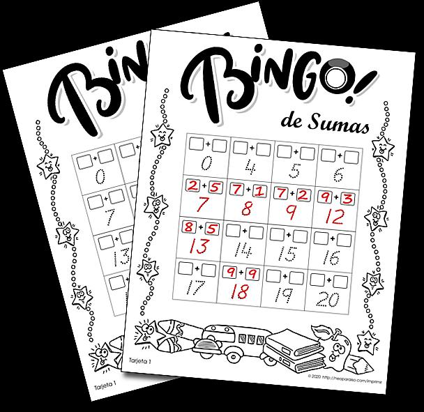 Juego De Lotería De Sumas De Números Del 0 Al 10 30 Tarjetas De Bingo Para Imprimir Pdf Bingo De Sumas Hasta El Bingo Para Imprimir Bingo Juegos Con Numeros