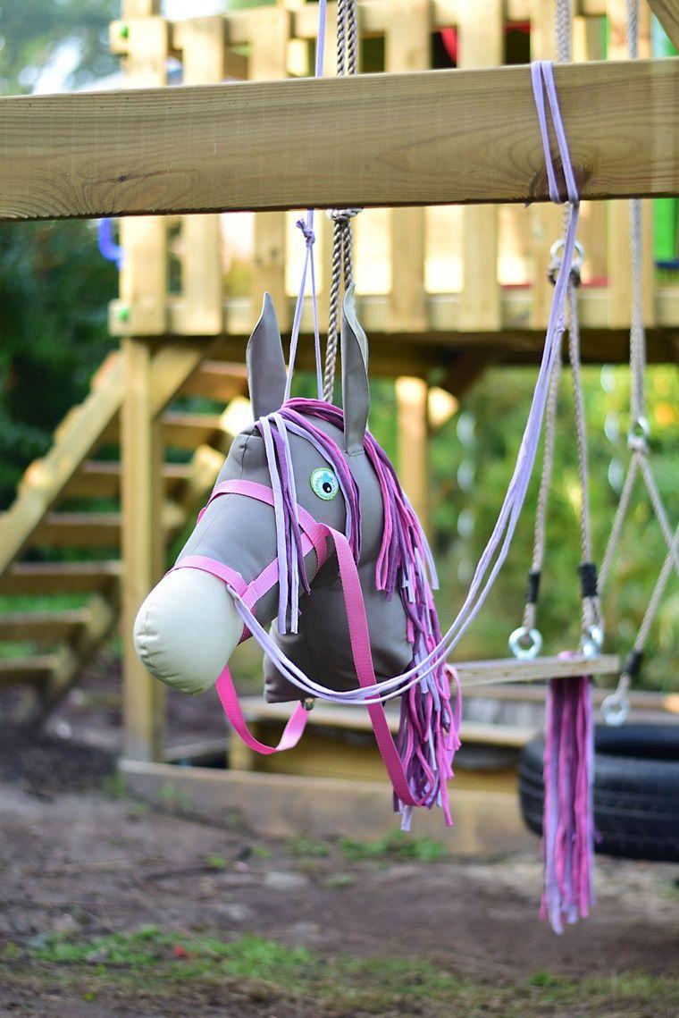 tutorial pferdeschaukel selber bauen nähen pferd schaukel diy