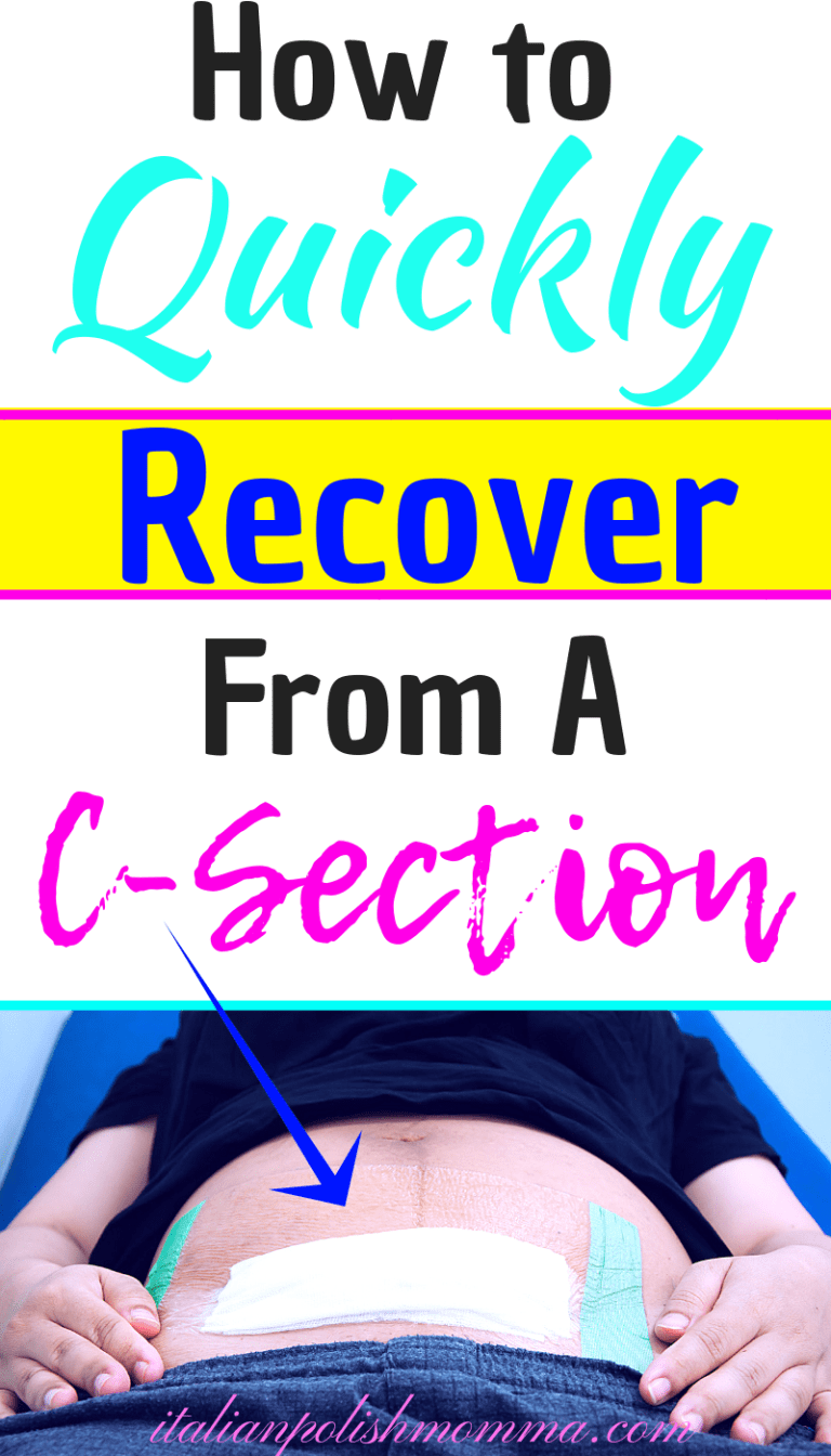 CSection Recovery Tips