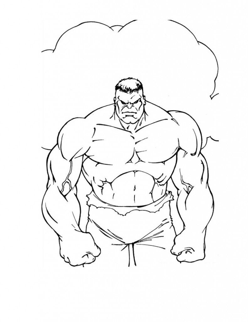 Free Printable Hulk Coloring Pages For Kids | Pinterest | Incredible ...