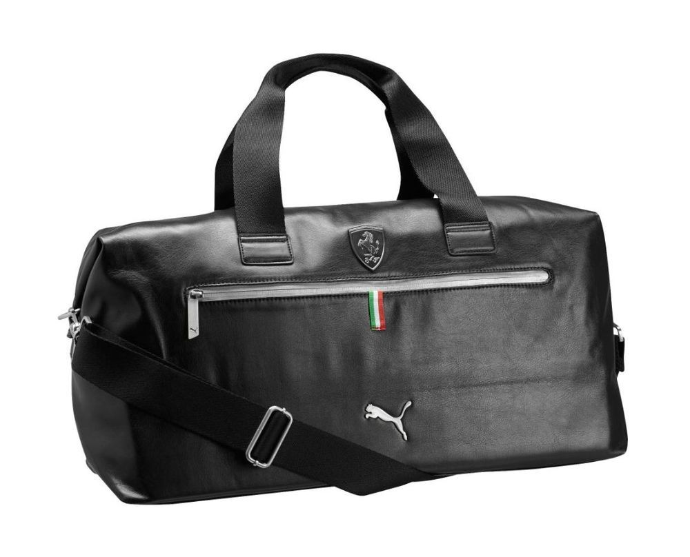 a197dce64b7b Puma Ferrari Weekender Black Duffle Bag Backpack PMMO1040-BLK  Puma   Backpack