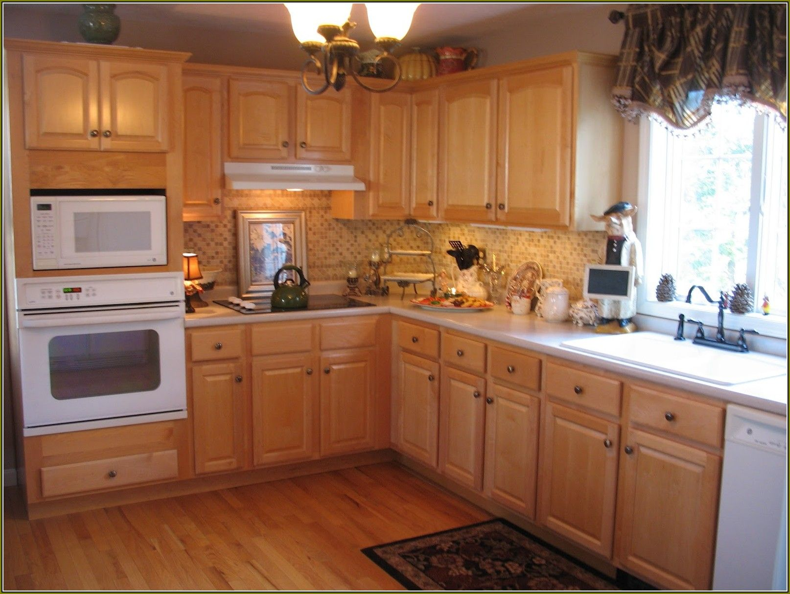 Maple Kitchen Cabinets Home Depot Kitchen Design Ideas