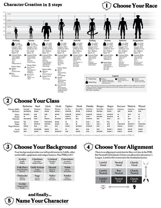 D D 5e Character Creation Sheet Character Creation Sheet