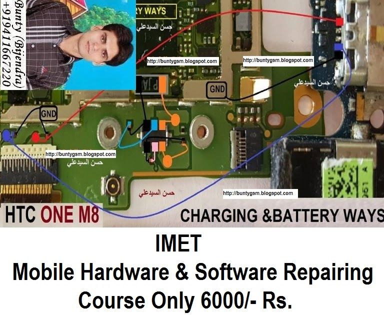 Htc One M8 Charging Problem Solution Jumper Ways