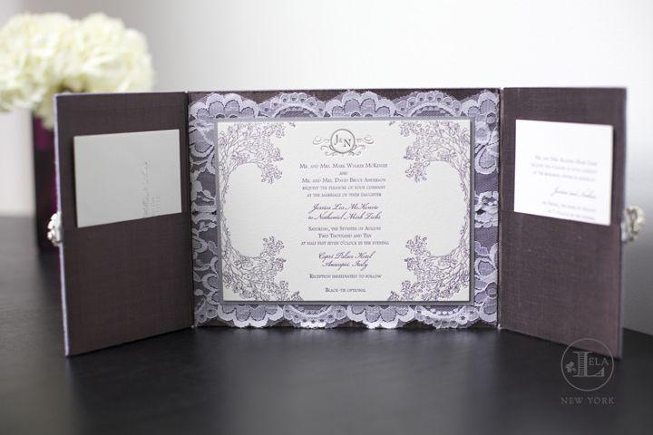 Couture Wedding Invitation Box