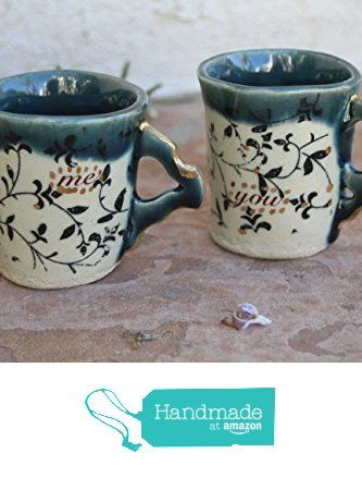 You and Me Espresso Cup set handmade ceramic small cups from Manuela