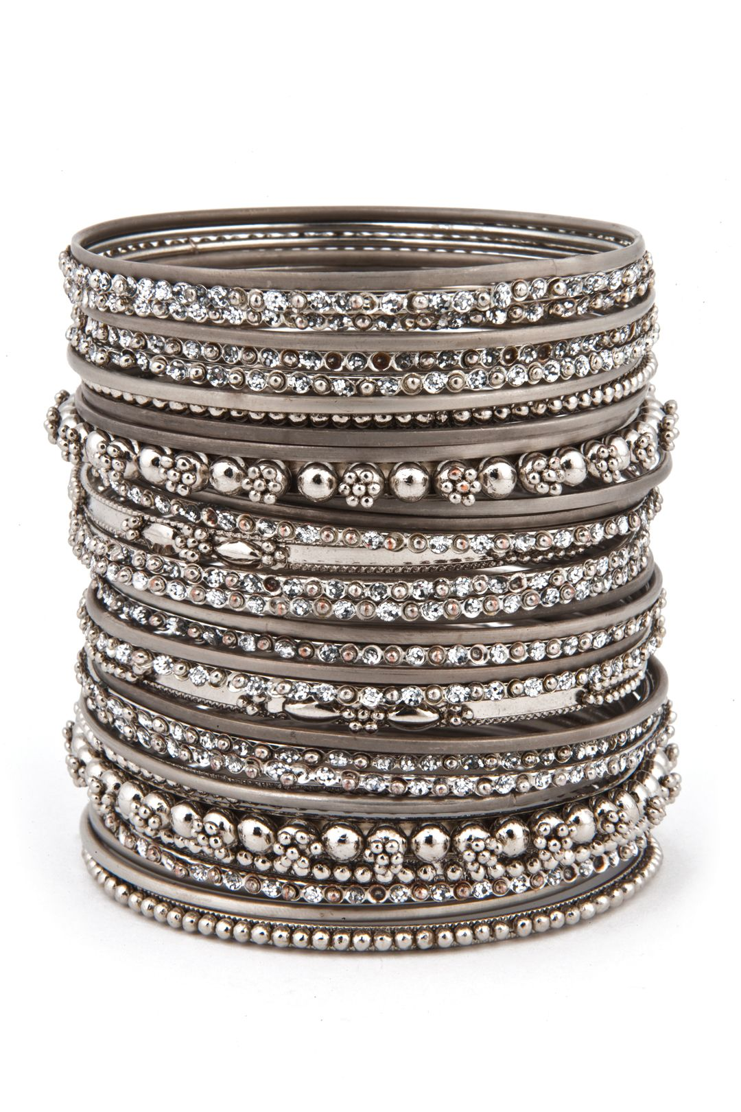 The More Merrier Bangle Set This Enormous Stack Of Bangles Will Make You Look Like Paid A Pretty Penny