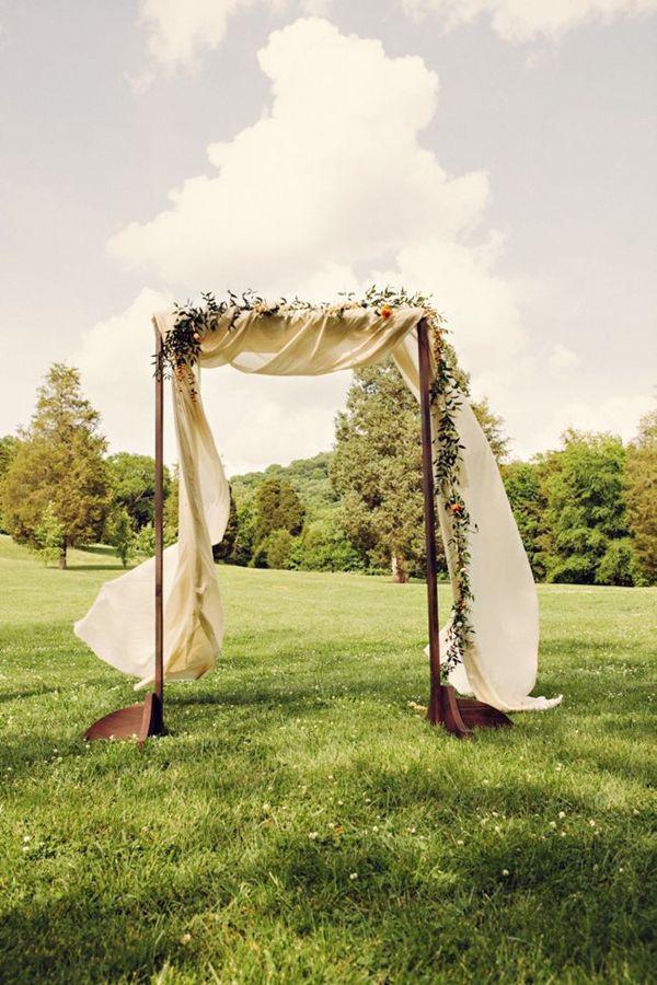 25 wedding arches decoration ideas wedding decor pinterest simple wedding arch junglespirit Image collections