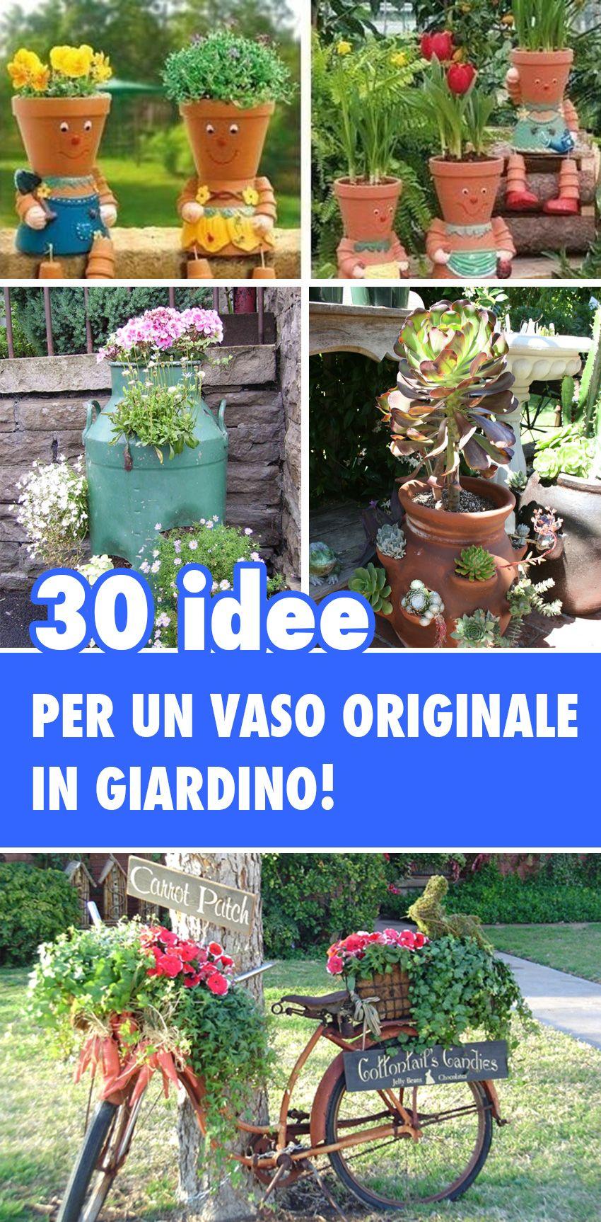 Idee Per Illuminare Un Giardino vasi di fiori: 30 idee originali per illuminare il tuo