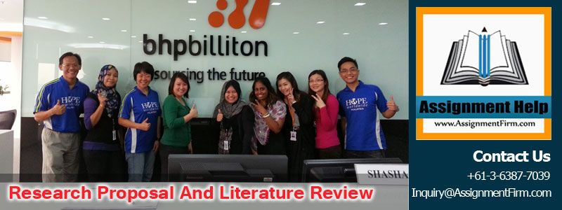 Research Proposal and Literature Review On BHP Billiton Pinterest