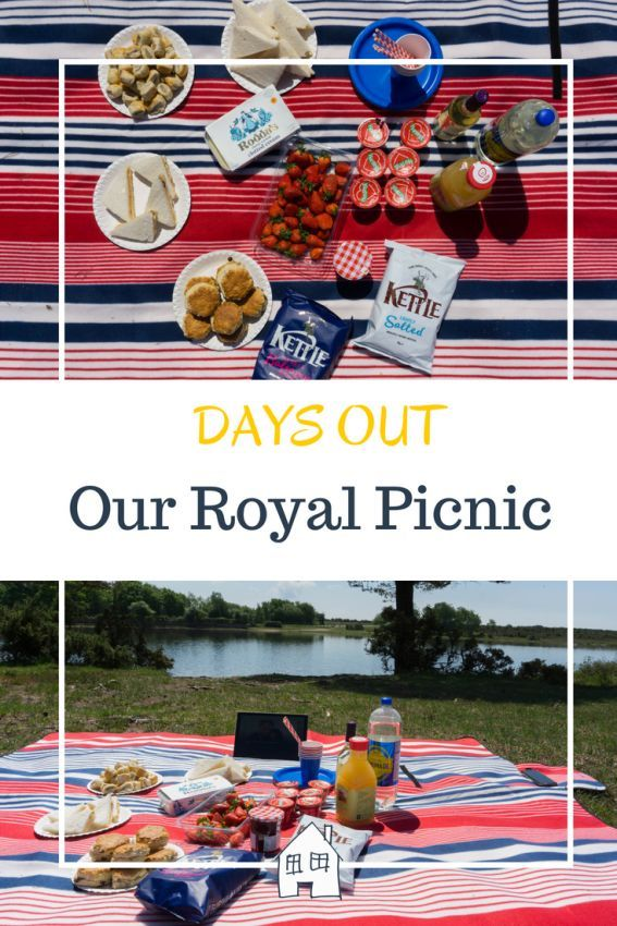 A Royal Picnic At Hatchet Pond #familypicnicfoods