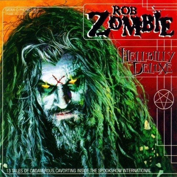 Rob Zombie Hellbilly Deluxe Limited Edition Orange Vinyl Lp New Sealed Rob Zombie Zombie Photo Zombie