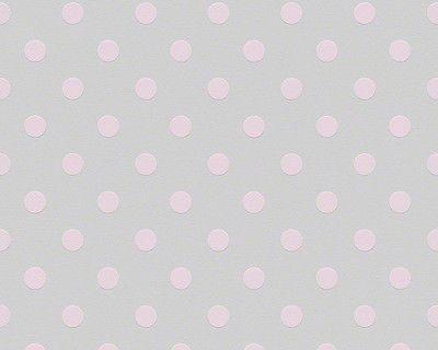 Vlies Tapete As Naf Naf 95218 1 Grau Rosa Punkte Gepunktet Landhaus 952181 Madchen Tapete Tapeten Farben Und Tapeten