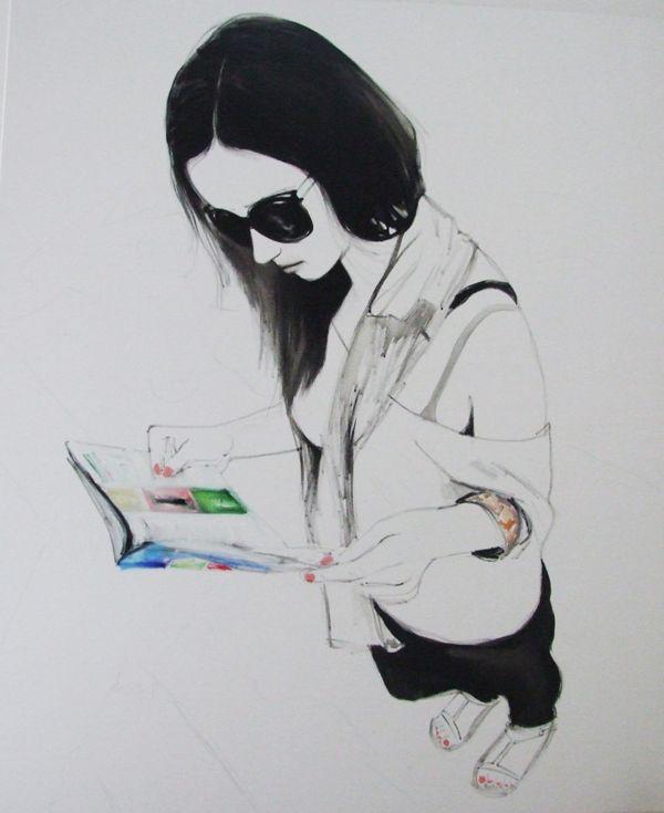 One day No1  /2012 by Viktoria Szunyoghy, via Behance