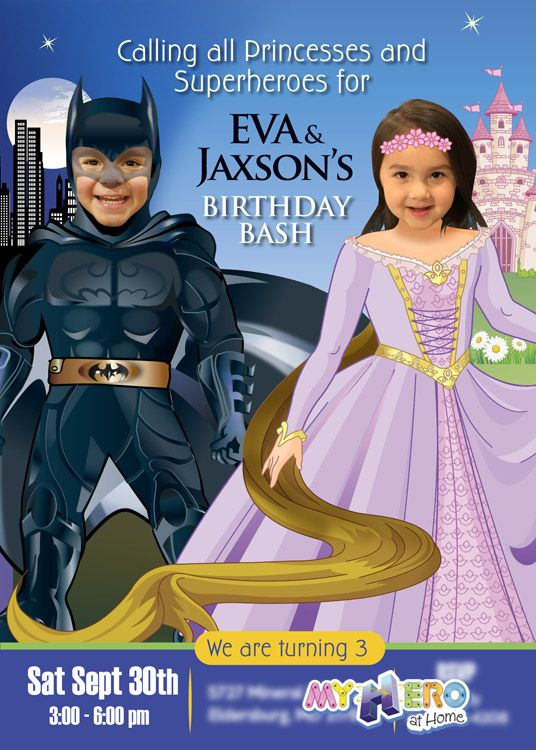 Joint batman and rapunzel birthday party sample superhero princess joint batman and rapunzel birthday party sample superhero princess party ideas princesssuperheroparty stopboris Choice Image