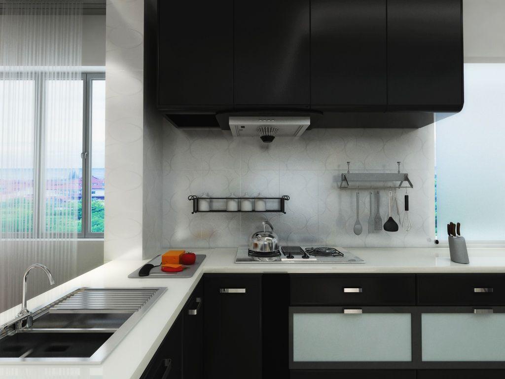 Línea Kaleido de #Interceramic: cocina moderna, elegante, cálida y ...
