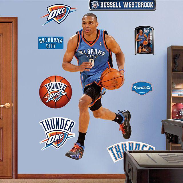 Fathead Russel Westbrook Oklahoma City Thunder
