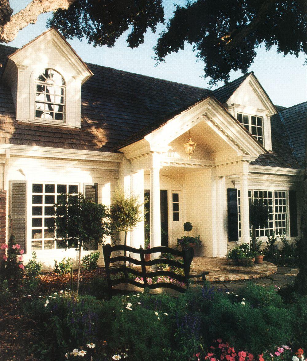Beautiful Exterior Detailing - photo via Custom Home Magazine