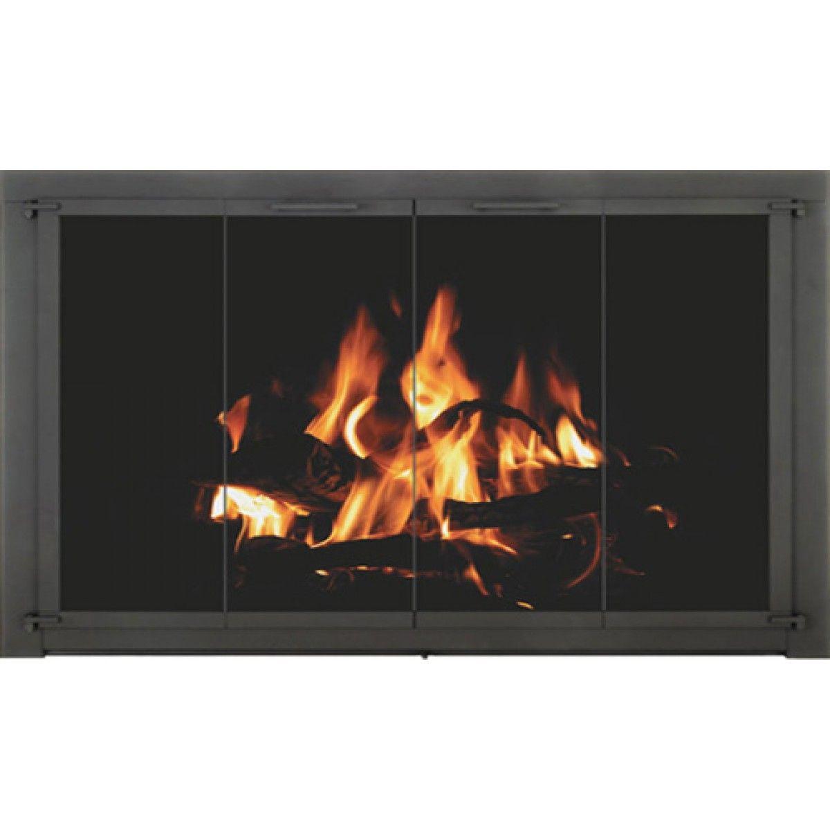 The Crestone For Heat N Glo Fireplaces Heat N Glo Fireplace Doors