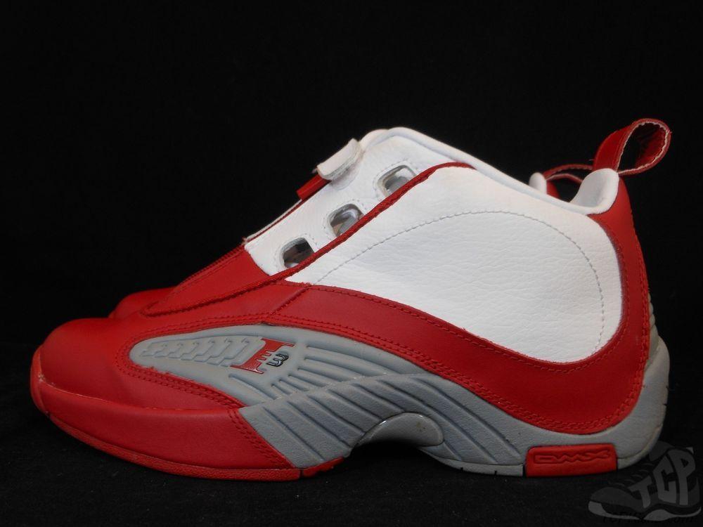 best loved a22e1 49e23 Vtg OG Reebok Iverson Answer IV 4 s sz 7 VII Rain Drop Georgetown Pump Retro   Reebok  AthleticSneakers  tcpkickz