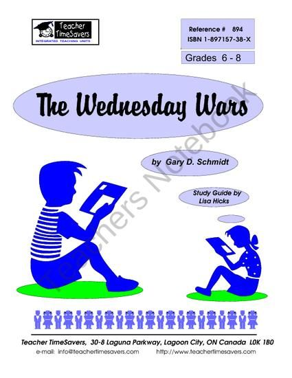 The wednesday wars essay questions