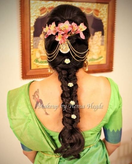 New Indian Bridal Hairstyles Engagement Ideas